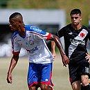 Thiago, do Bahia, foi o autor do gol da equipe