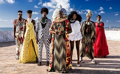 Foto da campanha do Afro Fashion Day 2019 que vai ao ar amanhã
