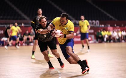 Handebol masculino perde para a Alemanha e está fora dos Jogos Olímpicos