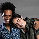 Dan Ferreira (Acácio) e Danilo Mesquita (Valentim) nasceram em Salvador e são destaques em Segundo Sol