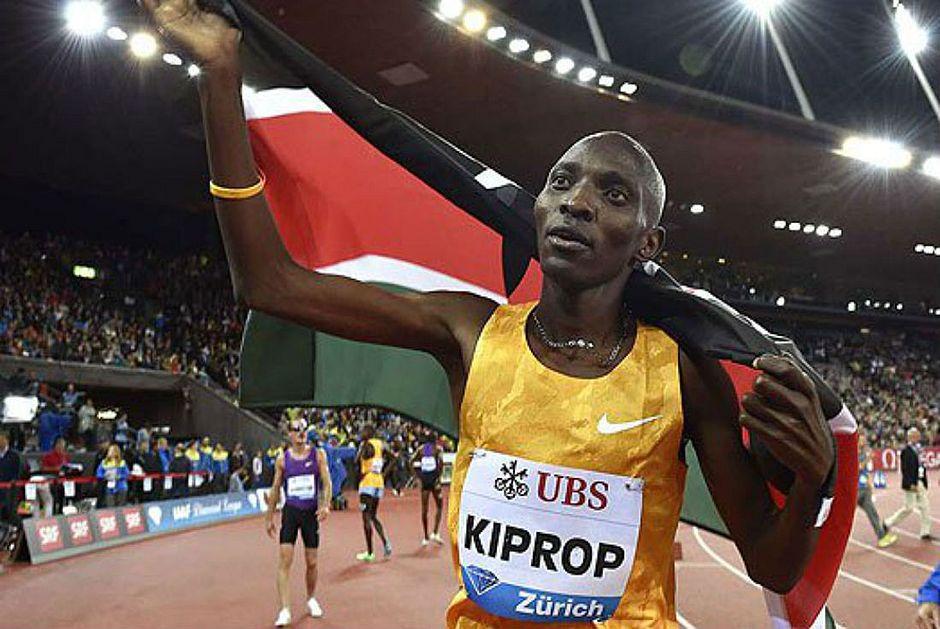 Asbel Kiprop alega ser sido extorquido