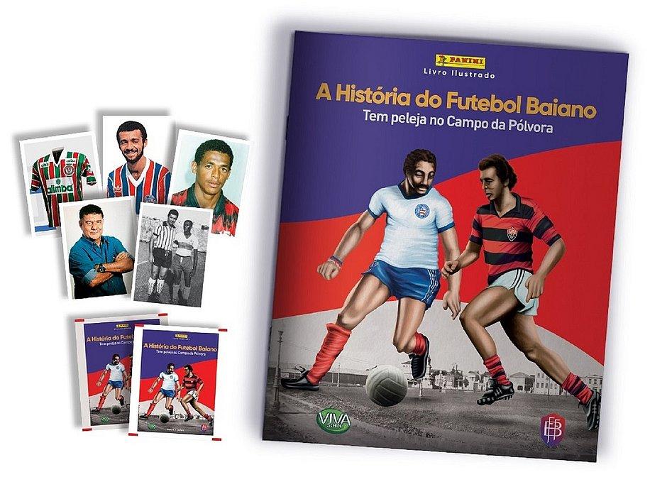 Panini lançará álbum de figurinhas A História do Futebol Baiano