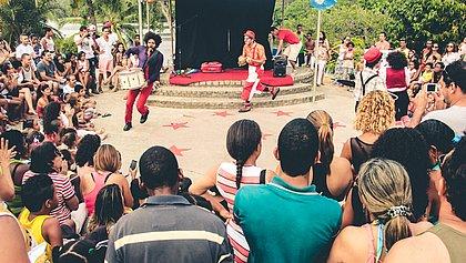 Projeto 'Pé de Circo na Cidade' realiza curso online de palhaçaria e espetáculo circense
