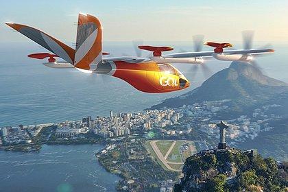 Gol faz acordo para lançar 250 carros voadores elétricos