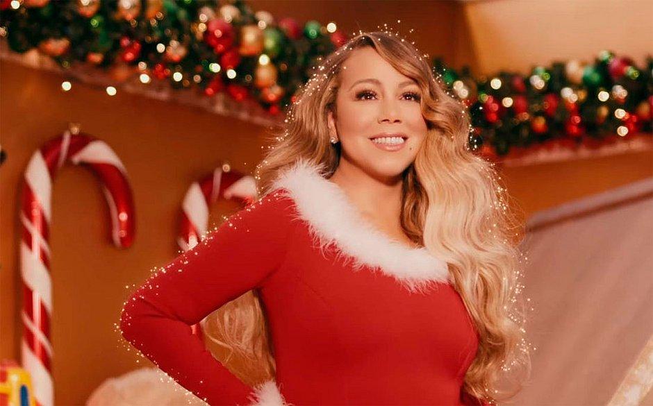 Mariah Carey comemora novo recorde com 'All I Want for Christmas Is You'