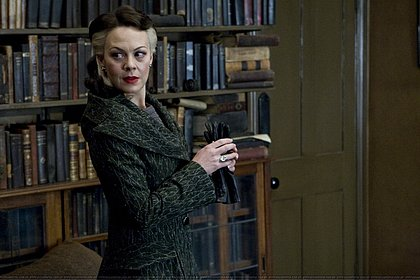 Em Harry Potter, ela viveu Narcisa Malfoy