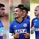 Yuri, Edigar Junio e Régis ainda não sabem se vão permanecer no Bahia em 2020