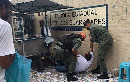 Mesário desmaia e é socorrido pela Polícia Militar em Pernambuco