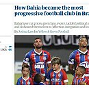 Jornal The Guardian, da Inglaterra, publica reportagem sobre o Bahia