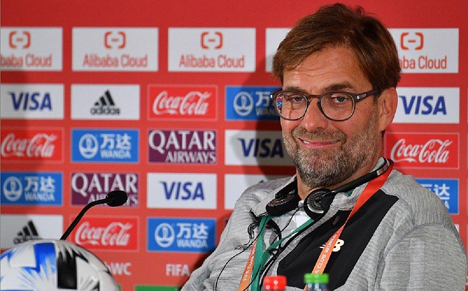 Klopp não vê Liverpool favorito ao título do Mundial de Clubes