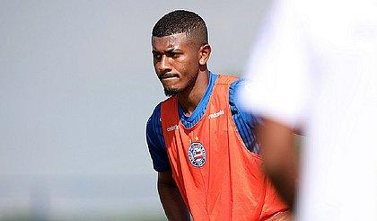 Thiago, de 20 anos, foi promovido ao principal do Bahia no ano passado após se destacar na Copa do Brasil Sub-20