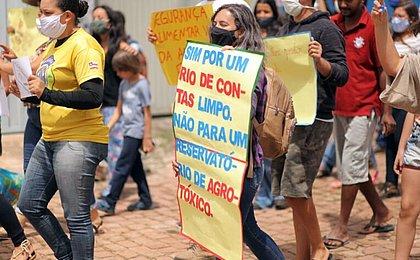 Comunidades rurais protestam na Chapada contra devastação para produção de batatas