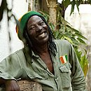 O cantor de reggae Alpha Blondy