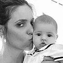 Fernanda e a filha caçula