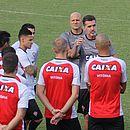 Mancini era o técnico preferido dos jogadores do Vitória
