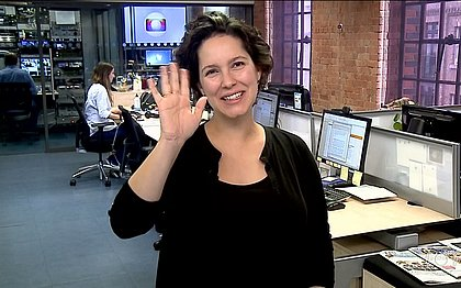 Jornalista da Globo se despede do 'Bom Dia Brasil' para entrar em licença maternidade