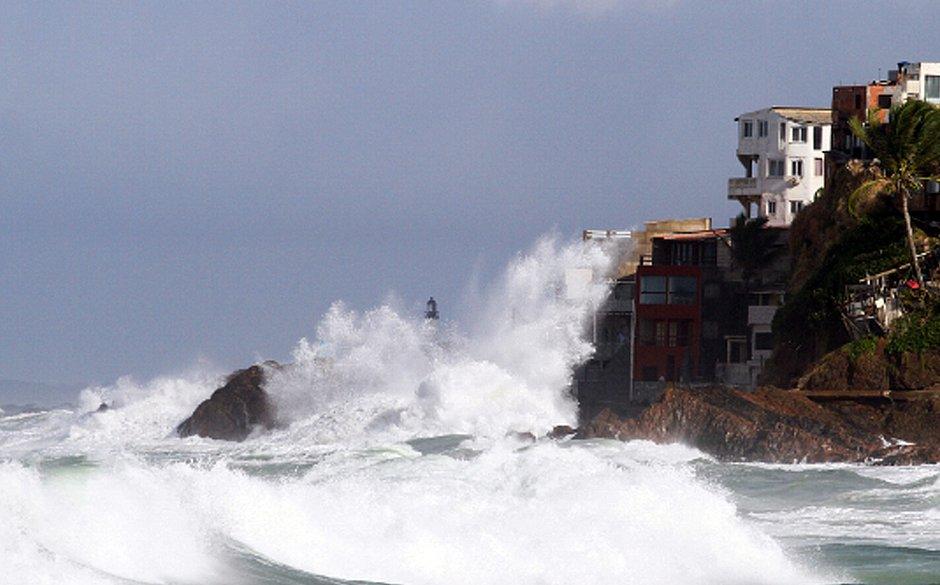 Salvador terá ventos de 60km/h e ondas de até 3,5 metros neste fim de semana