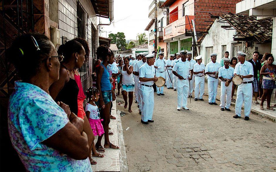 Grupos culturais revivem a tradição das Marujadas e Cheganças no Recôncavo