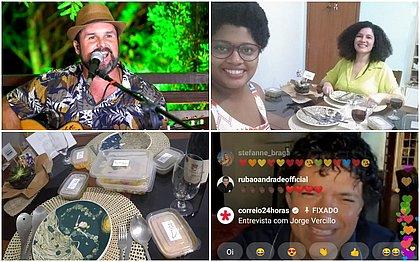 Lives, forró e declaração: um Dia dos Namorados diferente com o CORREIO