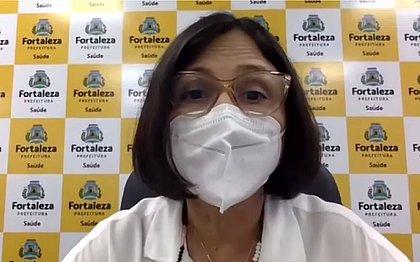 Secretária de Saúde de Fortaleza mira números de vacinação em Salvador