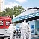 Ambulâncias do Samu estão levando pacientes das UPAs para os hospitais