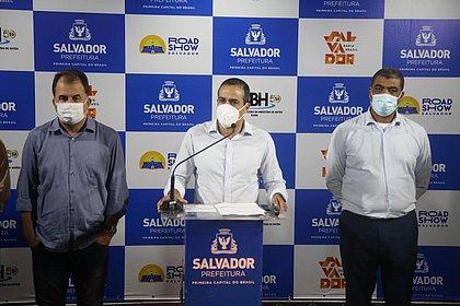 Road Show Salvador 2021 foi lançado pelo prefeito Bruno Reis nessa terça-feira (27)