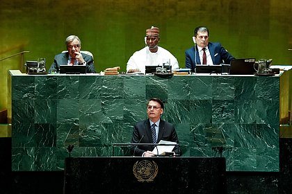 ONU deve exigir vacinação na Assembleia-Geral; medida poderia barrar Bolsonaro