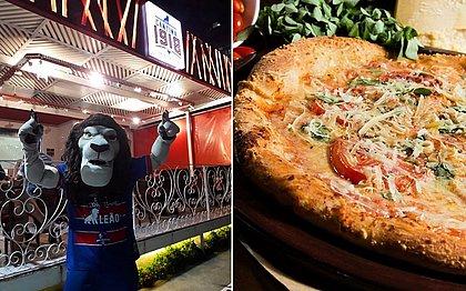 A cantina e uma de suas pizzas: a mista não estará no cardápio nesta semana