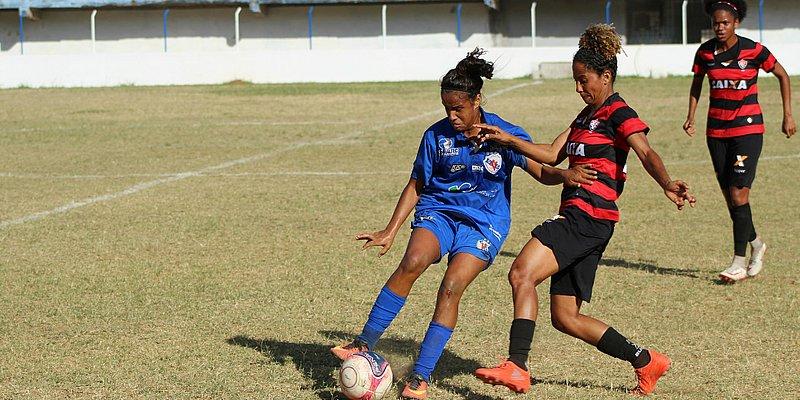 Vitória estreia no Baianão feminino com goleada de 8x0