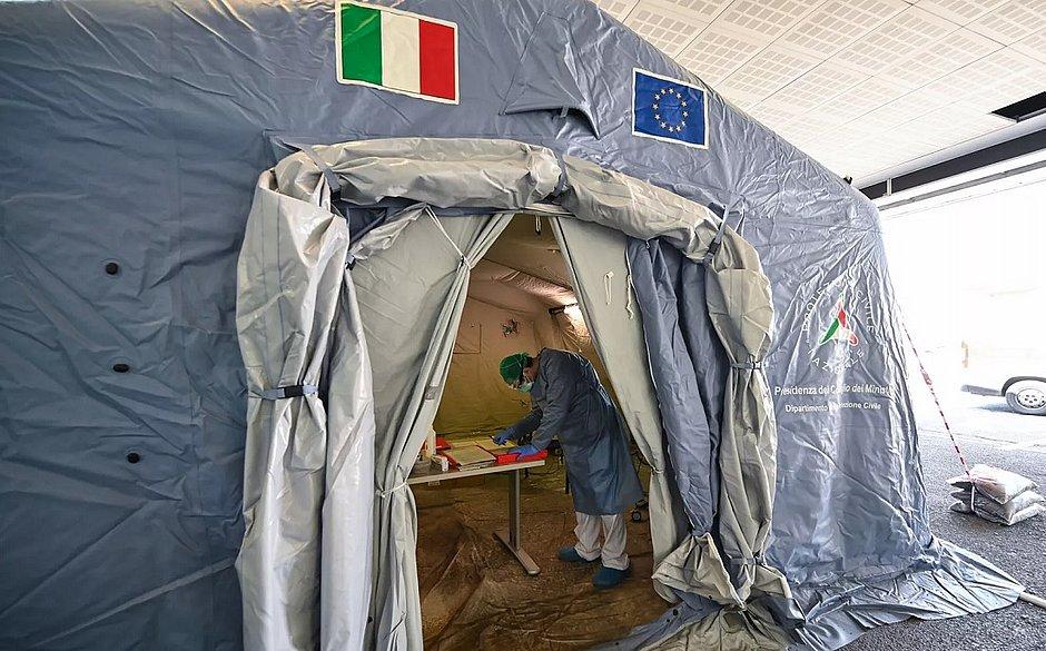 Itália tem segundo dia seguido com queda de mortes por covid-19