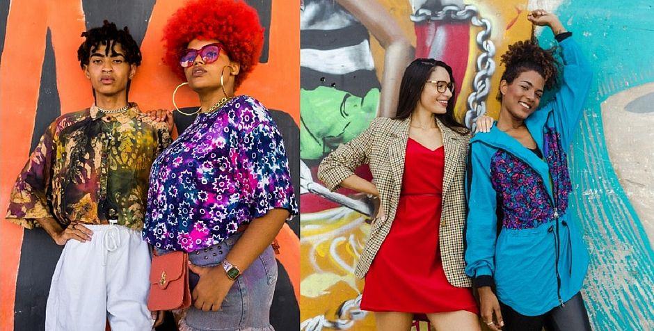 4179e1215be Look completo de R  10 a R  30  Paula Magalhães indica 2 brechós ...
