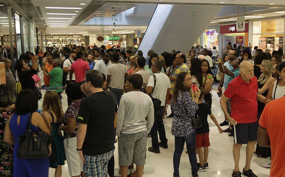 Salvador: 58% dos frequentadores de shoppings não fazem compras