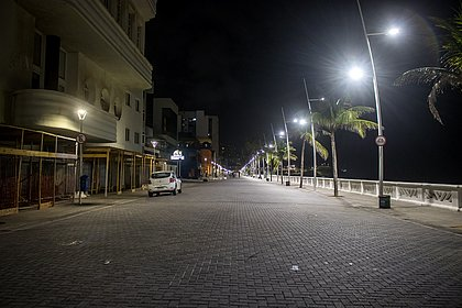 Salvador adormeceu mais cedo no primeiro dia do toque de recolher na Bahia