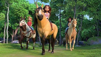 Animação Spirit chega em nova versão às telas dos cinemas
