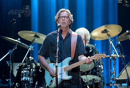 Eric Clapton anuncia que não fará shows em locais que exijam vacina contra covid