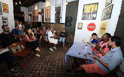 Versão ao vivo da coluna Baianidades é lançada no bar Velho Espanha