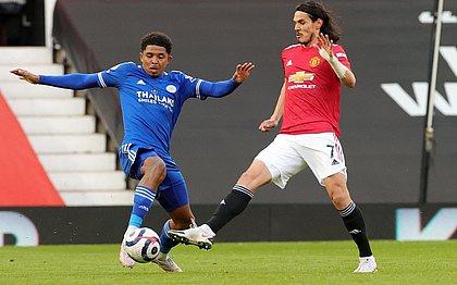 Leicester bateu o United por 2x1