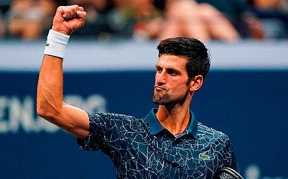 Djokovic atropela Gasquet e vai às oitavas de final no US Open