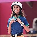 Rayssa Leal se tornou a brasileira mais jovem a conquistar a medalha olímpica