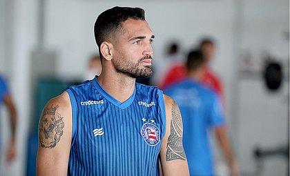 Artilheiro do Bahia no Brasileirão com nove gols, Gilberto é a esperança tricolor contra o Atlético-MG