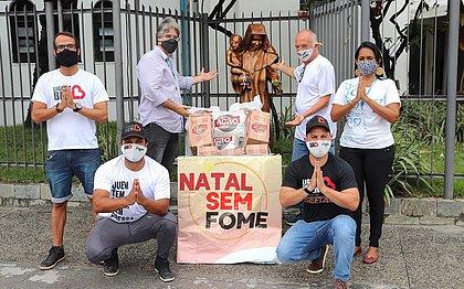 Obras Sociais Irmã Dulce recebem doação de uma tonelada de alimentos