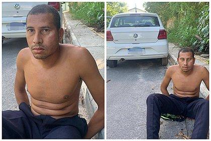 Acusado de assediar mulheres, homem é preso dirigindo nu em Lauro de Freitas