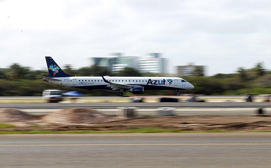 Voo para Maceió será operado em um Embraer 195