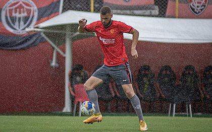Vitória finalizou nesta sexta-feira (16) a preparação para o jogo contra o Altos