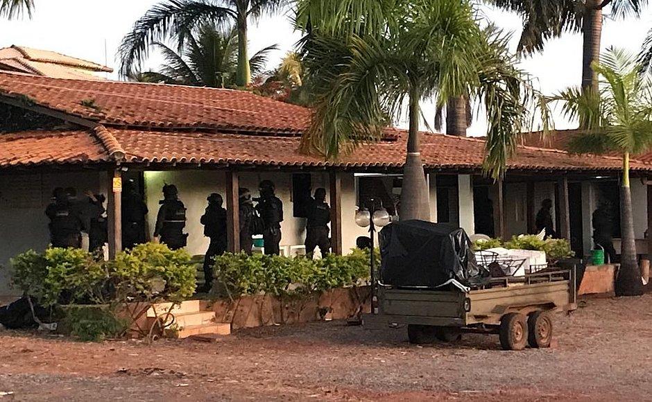 Grupos pró-Bolsonaro usavam chácara para reuniões e treinos paramilitares