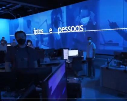 Globo lança campanha para mostrar intimidade dos jornalistasdo grupo