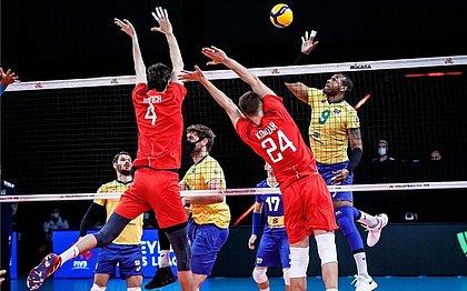 Brasil foi superado pela Rússia na última rodada da Liga das Nações
