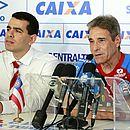 Carpegiani é apresentado pelo presidente Marcelo Sant'Ana