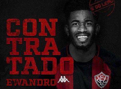 Atacante Ewandro é o novo reforço do Vitória para a Série B