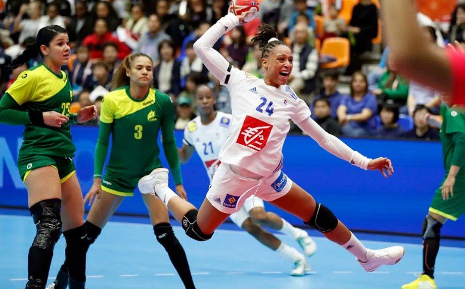 Brasil ficou no empate com a França na segunda rodada do Mundial